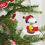 Hallmark Keepsake 2017 PEANUTS Winter Fun With SNOOPY Mini Christmas Ornament