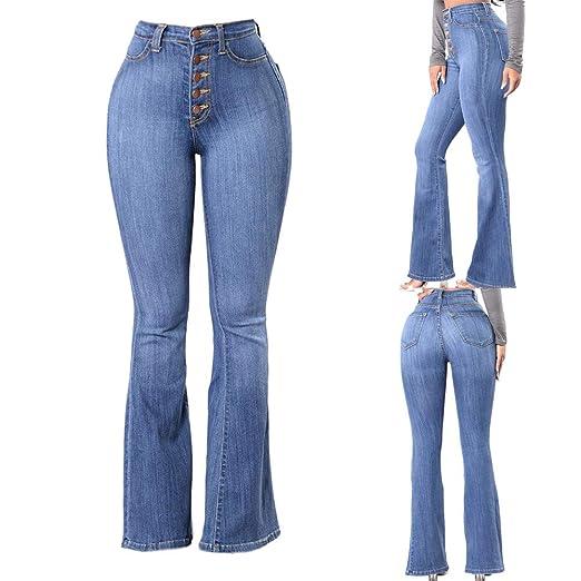 f76a08f7b226 Farjing Pants Clearance Sale Women High Waisted Skinny Denim Jeans Stretch  Slim Pants Calf Length Jeans