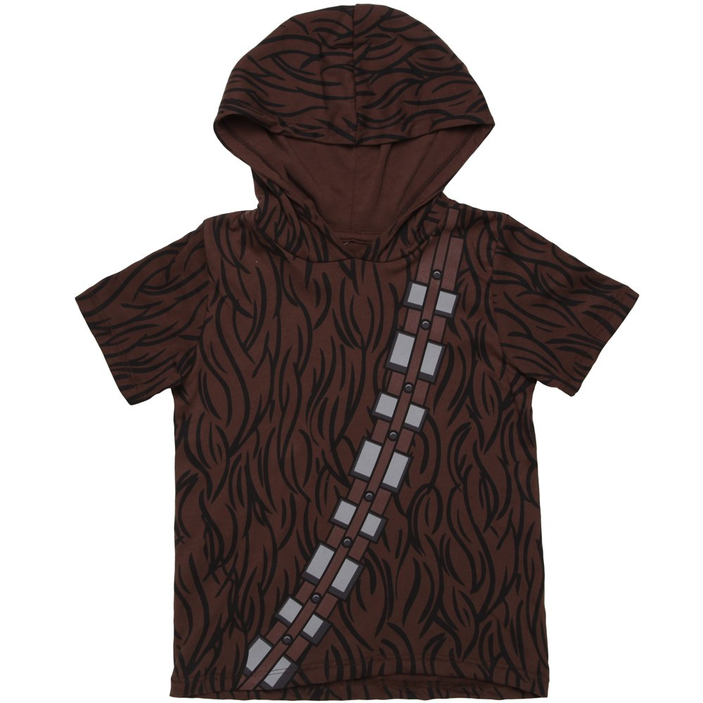 Star Wars I Am Chewbacca Hooded Youth T-shirt (X-Large)