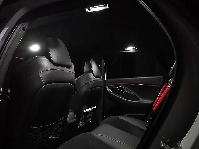 Maxlume Led Fondbeleuchtung Modulplatine Set Für I30 I30n Pd Mit Panoramadach 6000k Kalt Weiß Platine Hatchback Und Fastback Innenraumbeleuchtung Hinten Auto