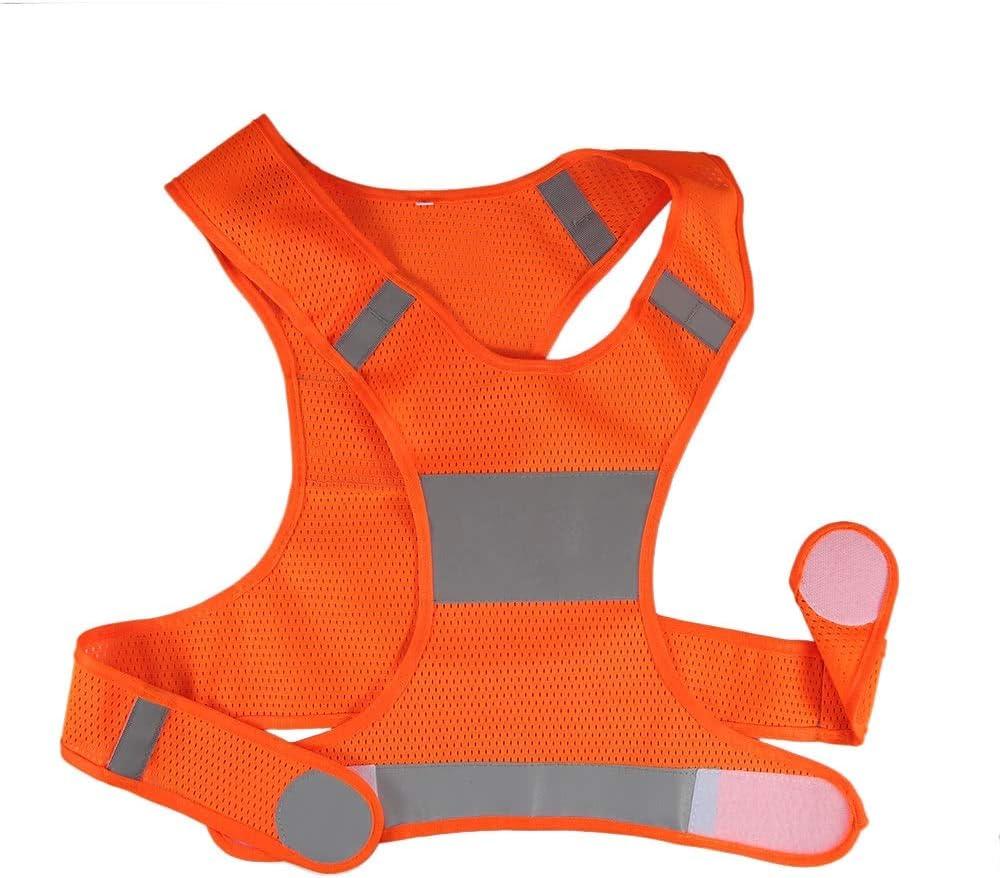 Yangyme Zone de Correction Vêtement de sécurité pour Femmes Hommes Jogging vélo Marche ank Top Plus la Taille réservoir Haute Maillot de Bain décontracté réglable (Size : XL)