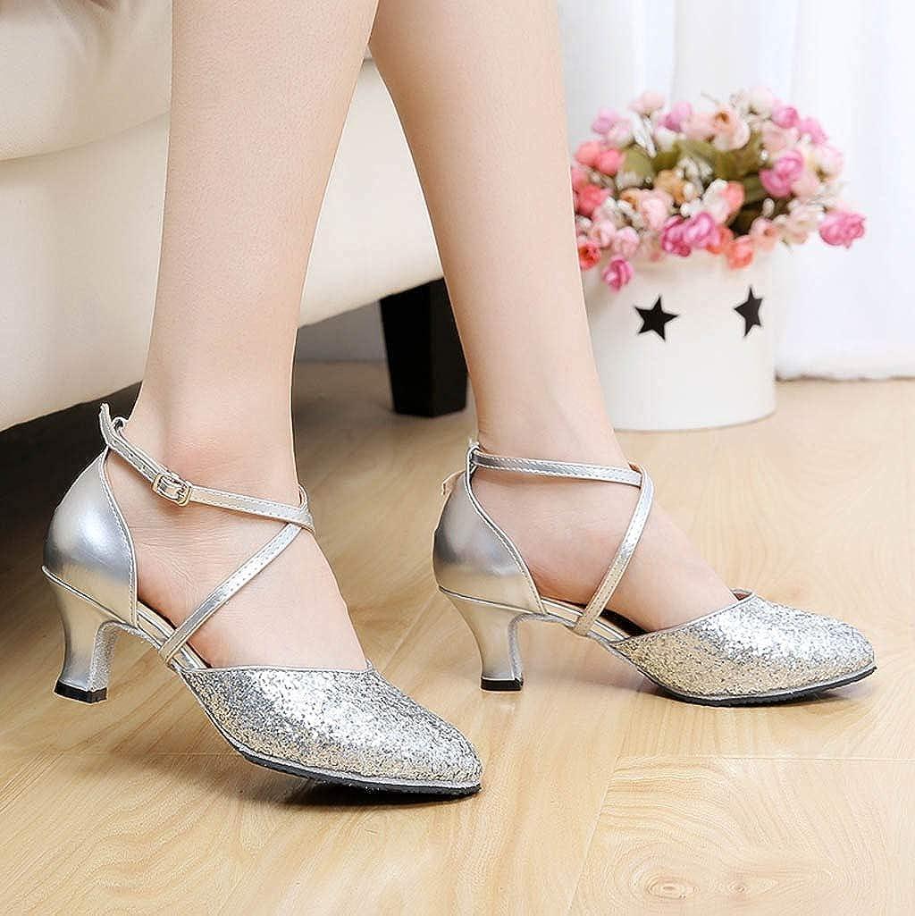 Prom Ballroom Latin Salsa Dance Shoes Square Dance Shoes,2019 New Womens Rumba Waltz Shoes