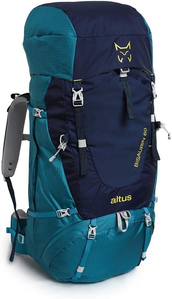 ALTUS Mochila Trekking Bisaurin 60: Amazon.es: Deportes y ...