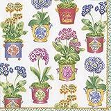Caspari Paper Napkins Fancy Floral Decorative Dinner Napkins for Wedding Napkins, Baby Shower