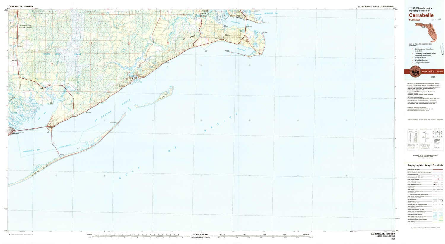 Amazon.com : YellowMaps Carrabelle FL topo map, 1:100000 ... on bradfordville florida map, pascagoula florida map, sharpes florida map, brookridge florida map, evinston florida map, sumatra florida map, molino florida map, pensacola bay florida map, campbellton florida map, warrington florida map, vamo florida map, baton rouge florida map, north carolina florida map, st. johns river florida map, hypoluxo florida map, south daytona florida map, st. george island state park florida map, pretty bayou florida map, mobile florida map, massachusetts florida map,
