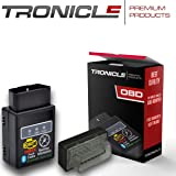 Tronicle Autoscan OBD2 Mini Diagnose-Gerät Torque Auto Car PKW KFZ Bluetooth Fehler-Speicher Lesen und Löschen (iOS (Bluetooth))
