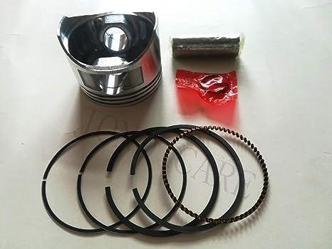 HATCHMATIC Kit de pistón de 68 mm con anillos para motor de generador de gasolina Honda