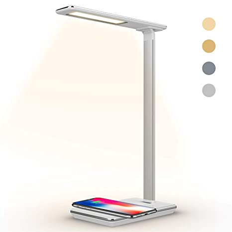 Charging Lamp led Lamp Wireless Charger 4 For Ydy With Enabled Led office Desk More Samsung And Adjustable Qi Phone Fast Table Iphone Lamp n0PwOymNv8