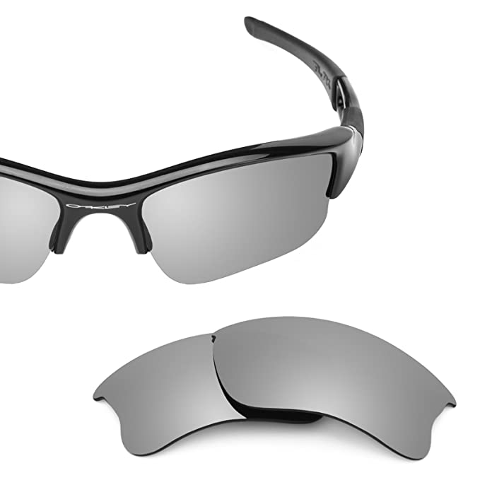 3ef6ce7abb Revant Replacement Lenses for Oakley Flak Jacket XLJ 2 Pair Combo Pack K004  at Amazon Women s Clothing store  Replacement Sunglass Lenses