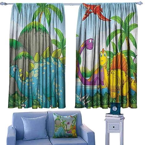 Amazon.com: ParadiseDecor Jurassic Boys Bedroom Backout ...
