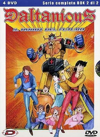 Daltanious Il robot del futuro Volume 02: Amazon.it: Tadao