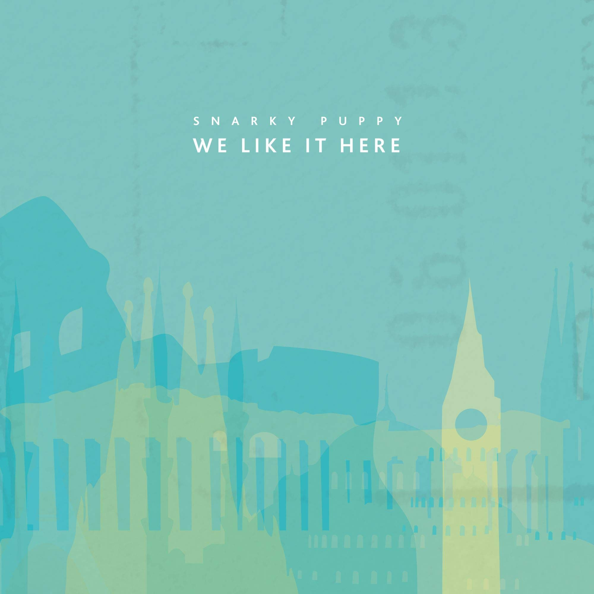 CD : Snarky Puppy - We Like It Here (CD)