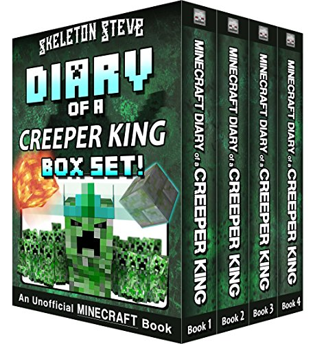 Diary Minecraft Creeper King BOX ebook product image