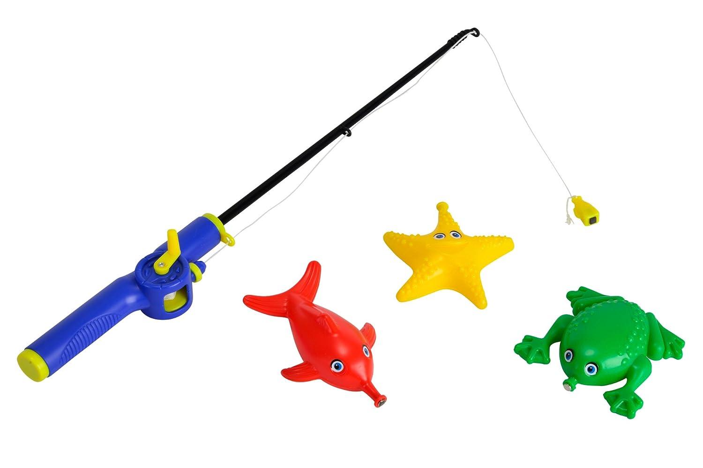 Ca/ña de pescar magn/ética para el ba/ño colores surtidos Simba Dickey 107408202