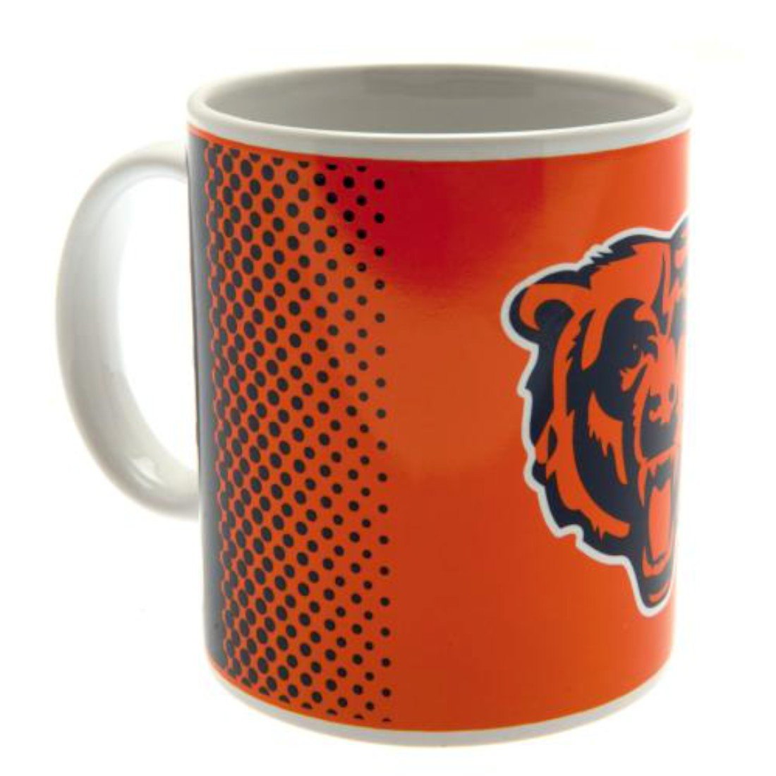 Chicago Bears Mug Fd Ceramic Mug Approx 9cm Tall, 8cm In Diameter 11 Oz In Printed Box Official