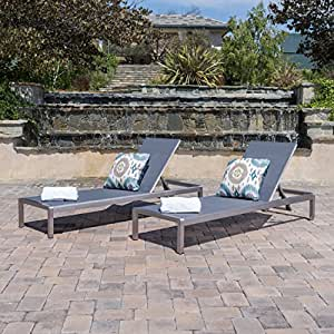 Amazon Com Crested Bay Patio Furniture Outdoor Mesh