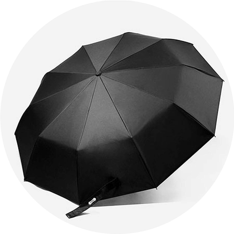 Automatic Folding Umbrella Men Women Strong Windproof Rain Umbrellas Anti UV Sun Protection Wooden Handle Paraguas Van Gogh,Type 1