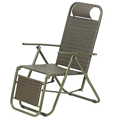 Amazon.com: QIDI - Silla plegable de ratán (3,645.3 in ...