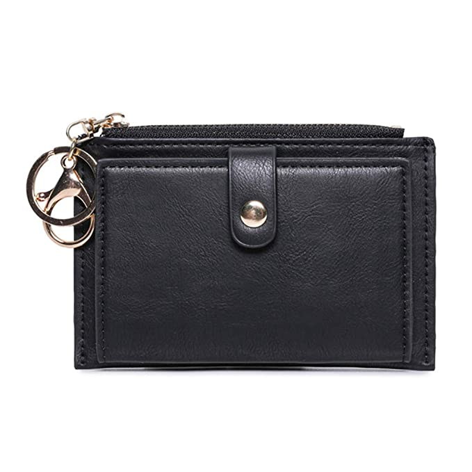 cec44b94b4b9 Slim Card Case Women Card Holder Mini Coin Purse For Students with ...
