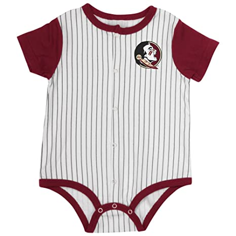 Amazon Com Florida State Seminoles Baby Boy Baseball Creeper