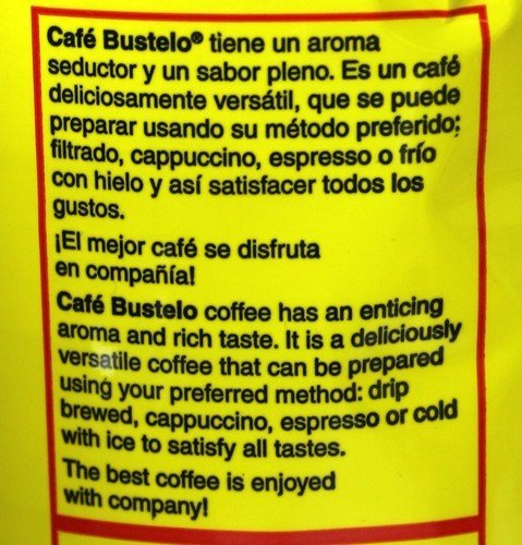 Amazon.com: Bustelo Cuban Coffee 10 oz can and 3 Cup Coffee Maker Style: Ground Coffee: Kitchen & Dining