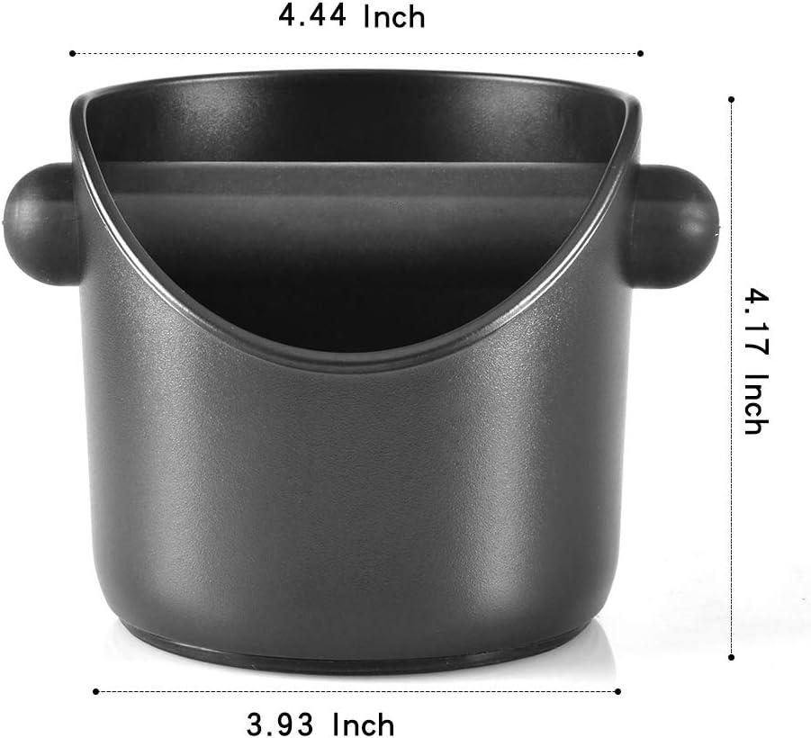 AVANTI COFFEE KNOCK BOX Bin Espresso Grinds Tamper Waste Tamp Tube Grind RRP $40