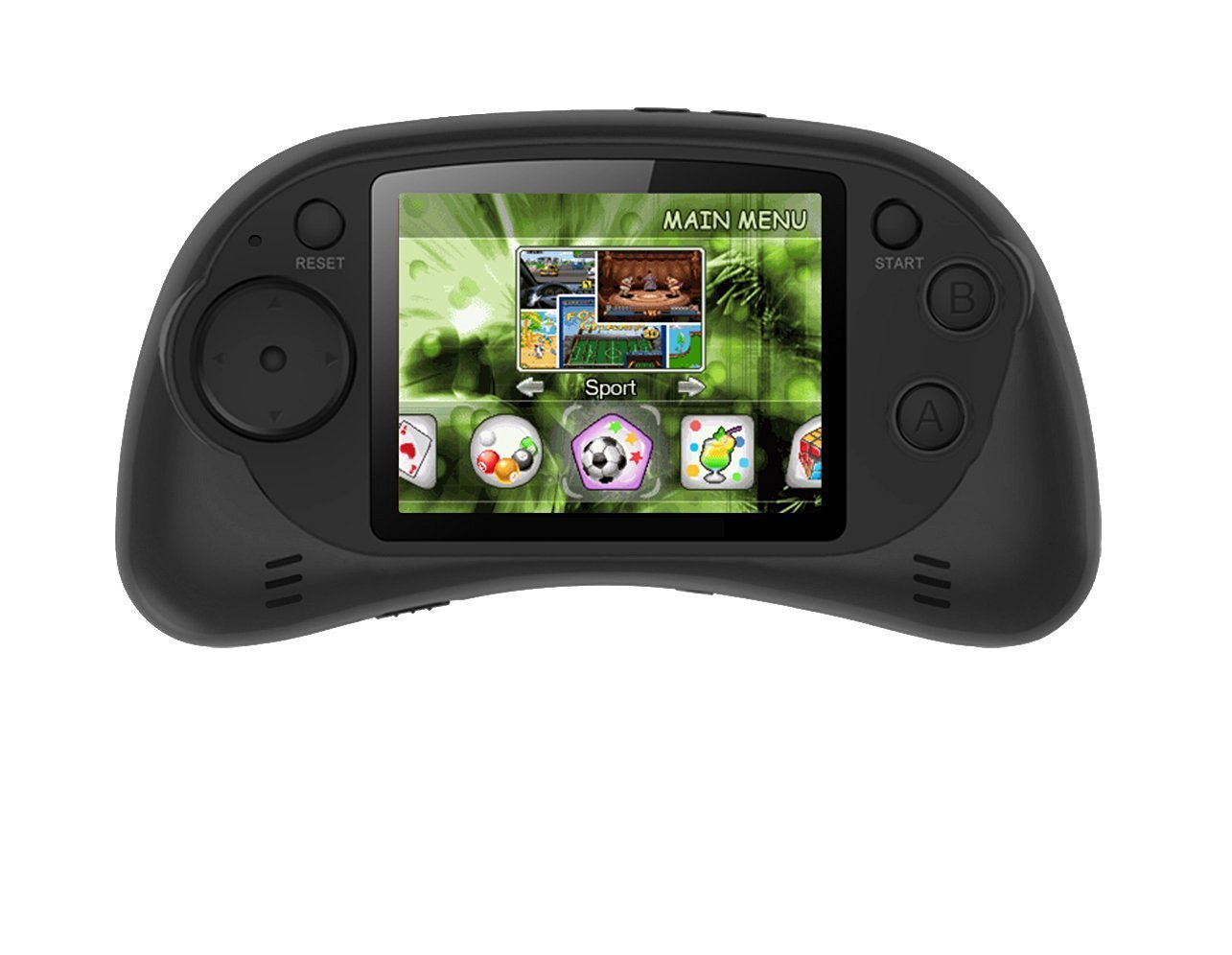 "Handheld Portable Digital Screen 200 Preloaded Games , 2.7"" Color Display BLACK"