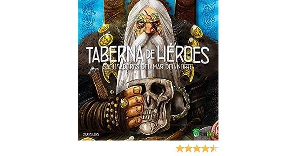 Ediciones Primigenio- Saqueadores del mar del Norte: Taberna de Héroes, Color (EPSMEX01): Amazon.es: Juguetes y juegos