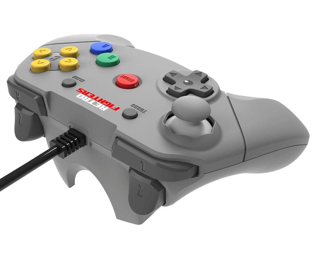 Amazon com: Retro Fighters Brawler64 Next Gen N64 Controller