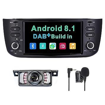 Sistema de Radio estéreo para Coche Android 8.1 Dab+ (Integrado) para Fiat Grande Punto