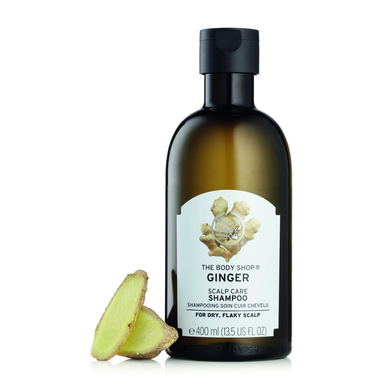 5. The Body Shop Ginger Scalp Care Shampoo
