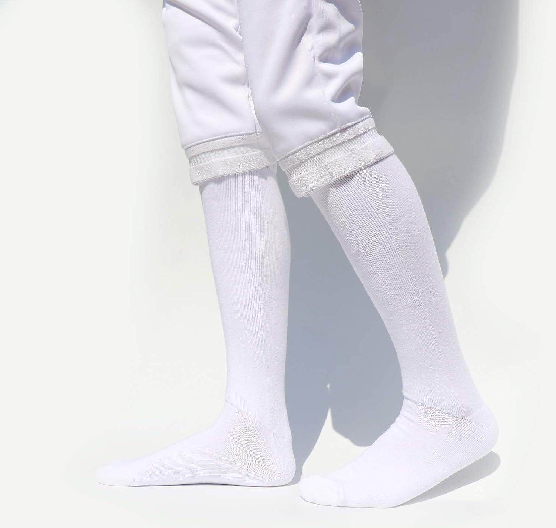 LEONARK esgrima Calcetines para Espada, Sable y la Hoja - 100% algodón - Protector Esgrima Medias para niños y Adultos - para Tanto Hombres como Mujeres Cercadores