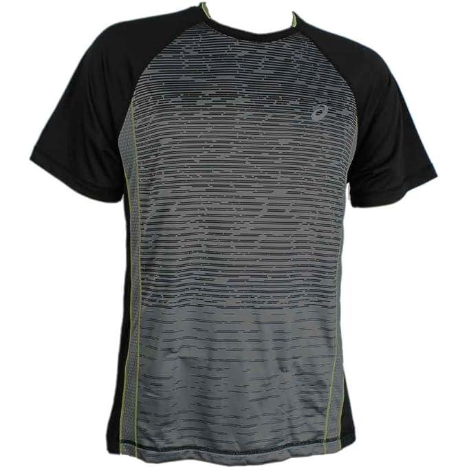 Asics Camiseta shori para Hombre XX-Grande Negro: Amazon.es: Ropa ...