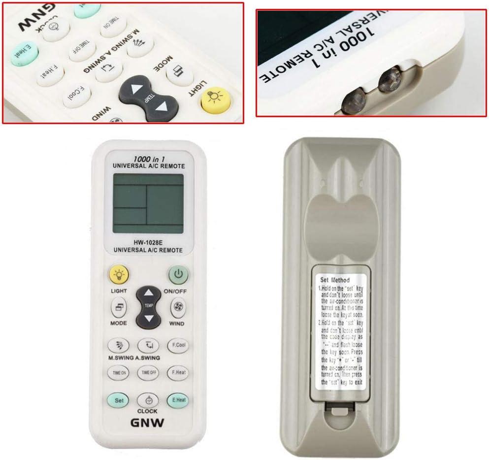 Digital Midea Universal A / C Control Remotopara Aire Acondicionado: Amazon.es: Electrónica