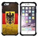 FJCases Germany German Flag Old Shockpro