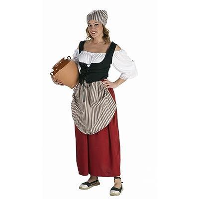 Disfraz de Mesonera Medieval para mujer: Juguetes y juegos