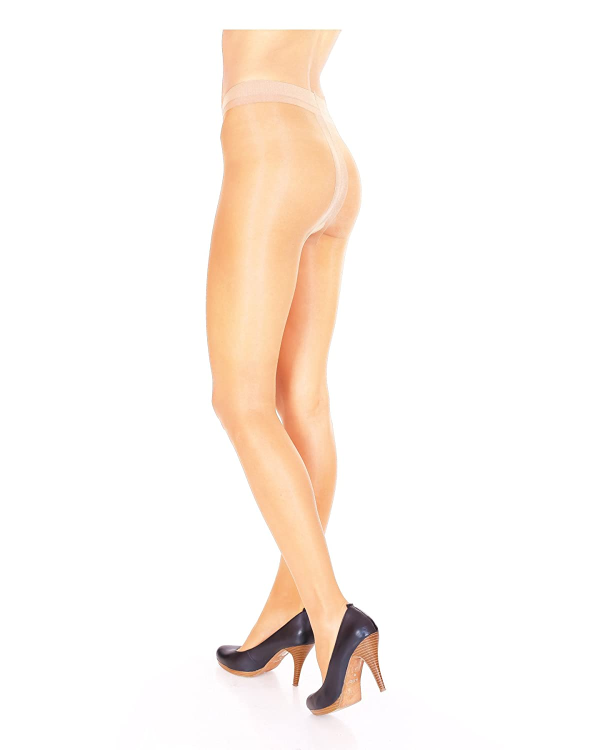 10 DENIER ULTRA SHEER TIGHTS WITH SPANDEX  NATURALS COLLECTION BY SILKY SALE