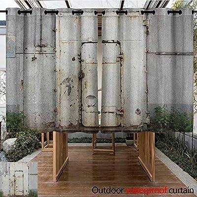 AndyTours Cortina de Puerta corredera, Industrial, Ventana Rota ...
