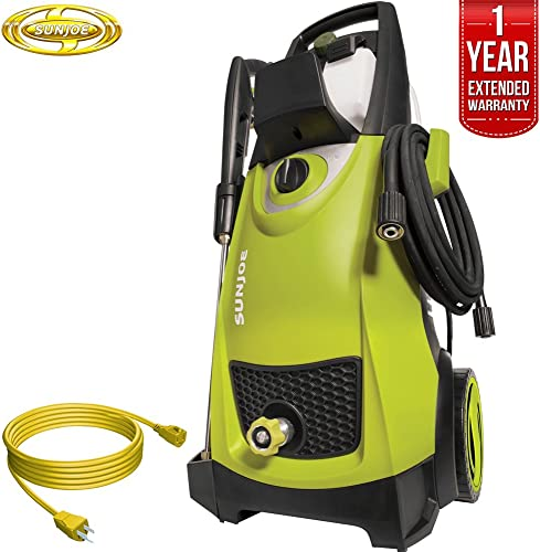 Sun Joe SPX3000 Pressure Joe 2030 PSI Electric Pressure Washer All You Need Bundle