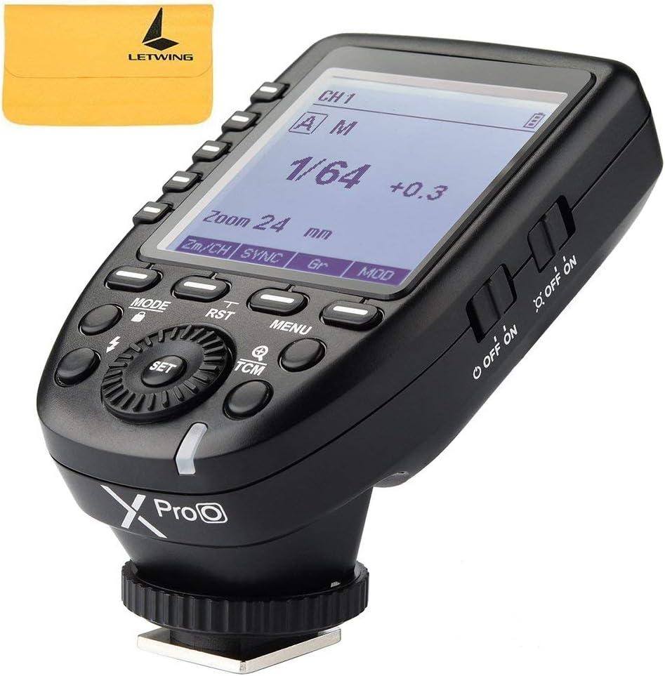 Godox xpro-o disparador de flash con funciones profesionales apoyo autoflash TTL para Olympus y Panasonic Cámaras