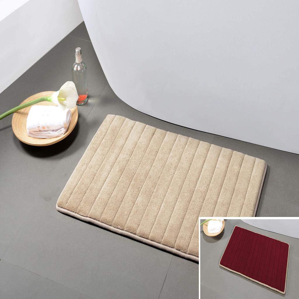 Home Decorator Memory Foam Kitchen /& Bath Mat Ultra Plush /& Soft Touch Duck River Textiles Brown FRBMC=20 10859 20 X 30 Inch