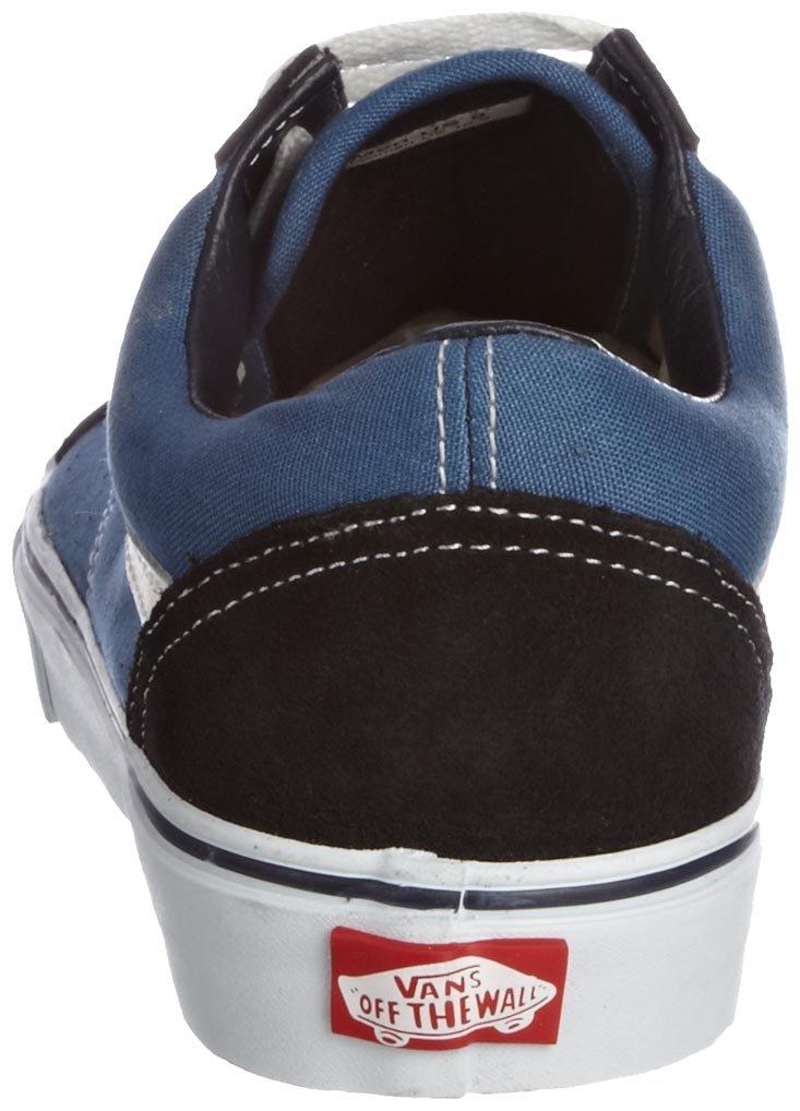 Vans Unisex Old Skool Classic Skate Shoes B01N9LTWMQ 13.5 B(M) US Women / 12 D(M) US Men|Navy/White