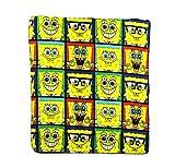 The Northwest Company SpongeBob Window Collage Repeater Fleece Character Blanket 50 x 60-inches
