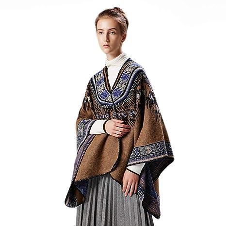 3b5be49e796 warm winter sjaal,plus size cape,retro coat women,poncho wrap.ponchos
