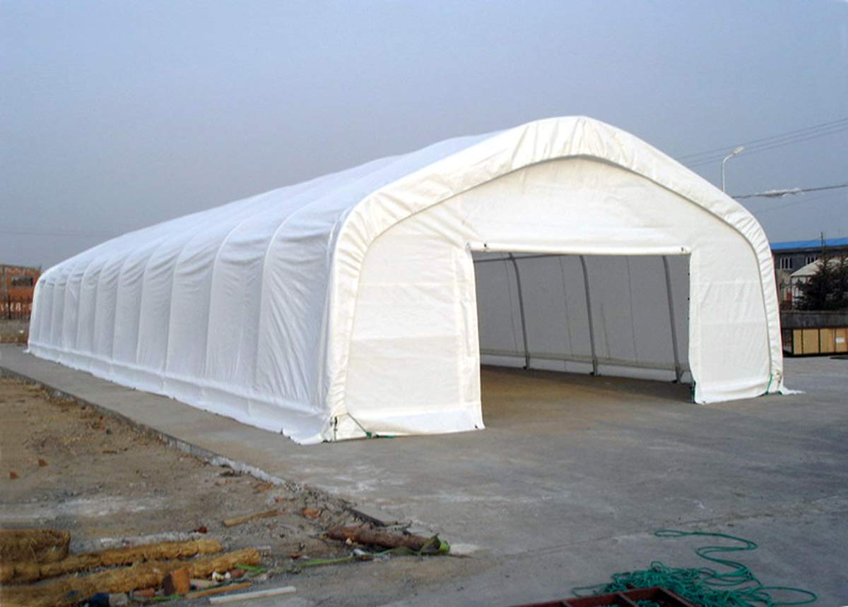 A&A Greenhouse White Plastic Film Polyethylene Covering 4 Year 6 Mil (32ft Wide X 25ft Long)