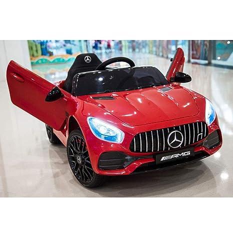 Bseion Mercedes-Benz GT Vehículo eléctrico para niños Vehículo deportivo de cuatro ruedas Control remoto