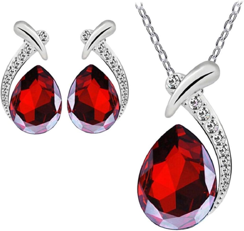 Nobio Women's Shiny Crystal...