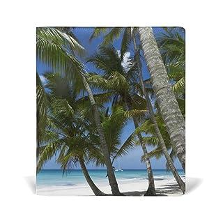 Fajro Blue Sky Seabeach Jumbo Book cover di dimensioni standard fino a 9x 11in