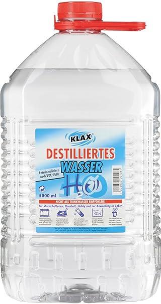Destilliertes Wasser 5 Liter 130043k Amazon De Auto