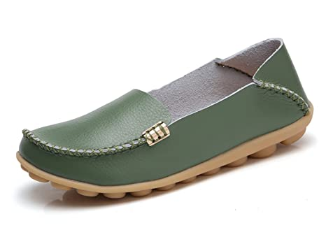 52372cb534c Image Unavailable. Image not available for. Colour  Women s Natural Comfort  Walking Flat Loafer